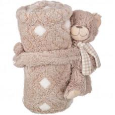 Плед детский (75х100 см) Тедди 851-001