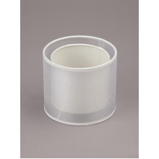 абажур двойной, цилиндр белый Е14 VL0479P