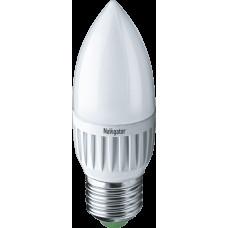 Лампа светодиодная (LED) Navigator 94 494 NLL-C37-7-230-4K-E27-FR