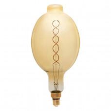 Лампа светодиодная филаментная Thomson E27 8W 1800K вздутая прозрачная TH-B2174