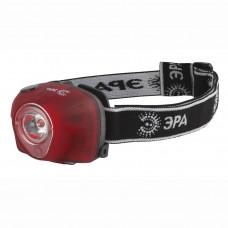 Налобный светодиодный фонарь ЭРА от батареек G3W Б0002249