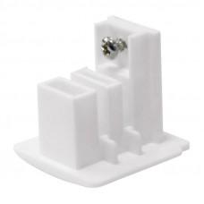Заглушка торцевая для шинопровода (09731) Uniel UFB-C41 White