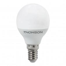 Лампа светодиодная Thomson E14 4W 4000K шар матовая TH-B2102