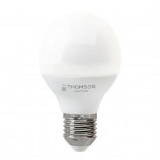 Лампа светодиодная Thomson E27 8W 3000K шар матовая TH-B2039