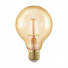 Лампа светодиодная филаментная диммируемая Eglo E27 4W 1700К золотая 11692