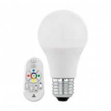 Лампа светодиодная Eglo E27 9W 2700-6500K матовая 11585