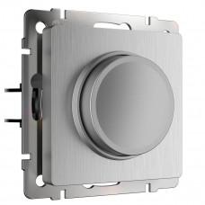Диммер Werkel серебряный рифленый WL09-DM600 4690389085031