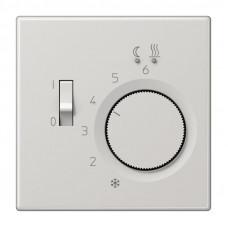 Регулятор теплого пола 10(4)А Jung LS 990 светло-серый FTRLS231LG
