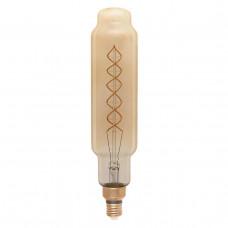 Лампа светодиодная филаментная Thomson E27 8W 1800K цилиндр прозрачная TH-B2177
