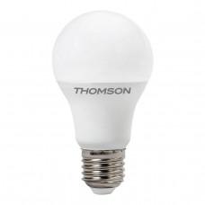 Лампа светодиодная диммируемая Thomson E27 9W 3000K груша матовая TH-B2157