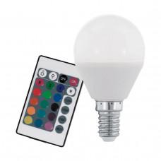 Лампа светодиодная диммируемая Eglo E14 4W 3000K матовая 10682