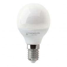 Лампа светодиодная Thomson E14 10W 6500K шар матовая TH-B2317