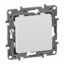 Выключатель одноклавишный Legrand Etika 10A 250V белый 672201