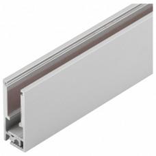 Профиль встраиваемый мебельный [2 м] Arlight KLUS-GLASS-56-2000 ANOD 019193