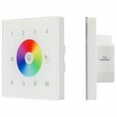 Панель-регулятора цвета RGBW сенсорная встраиваемая Arlight Sens SR-2300TR-DT8-G1-IN White (DALI, RGBW)