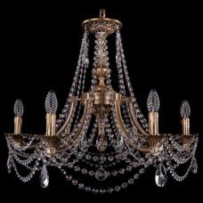 Подвесная люстра Bohemia Ivele Crystal 1771 1771/6/220/C/FP