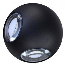 Накладной светильник DL18442/14 Black R Dim