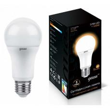 Лампа светодиодная Gauss 102502112 E27 12Вт 3000K 102502112