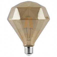 Лампа светодиодная Horoz Electric Rustic Diamond-6 E27 6Вт 2200K HRZ00002346
