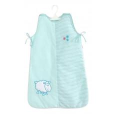 Спальный мешок для новорожденных (75 см) Белые кудряшки