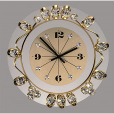 Часы настенные хрустальные Preciosa 99 008 00 25 7016 000 13 70 04 35