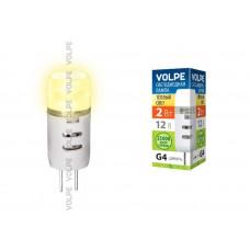 Лампа светодиодная JC Volpe 12В LED-JC-2W/WW/G4/FR/S Цвет свечения теплый белый. Серия Simple