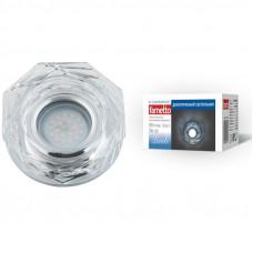 Светильник встраиваемый декоративный ТМ Fametto DLS-L122 GU5.3 GLASSY/CLEAR