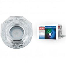 Светильник встраиваемый декоративный ТМ Fametto DLS-L122 GU5.3 GLASSY/CLEAR/RGB